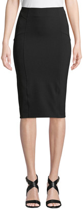 Veronica Beard Vail Midi-Length Pencil Skirt