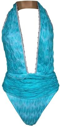 Missoni Blue Silk Swimwear for Women