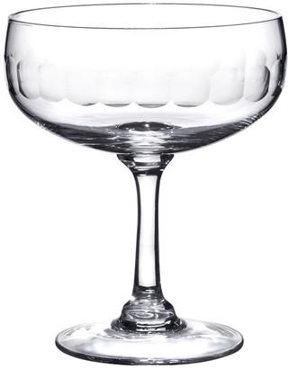 The Vintage List A Set Of Four Cocktail Glasses With Lens Design