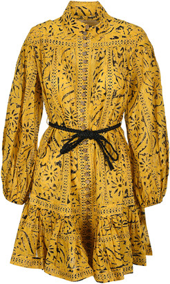 Zimmermann The Lulu Drop Waist Mini Dress
