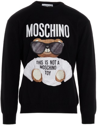 Moschino Teddy Embroidered Sweater