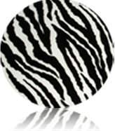 Luna Lullaby Bosom Baby Nursing Pillow Slip Cover, Zebra
