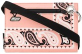 MSGM paisley-print pouch