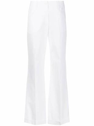 Aspesi Flared Turn-Up Trousers