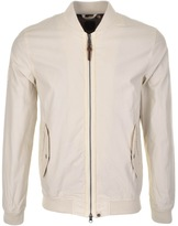 Pretty Green Upton Bomber Jacket Stone
