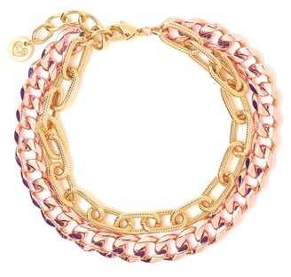 Tess + Tricia Quinn Double Chain Bracelet