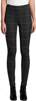 Style&Co. Style & Co. Plaid-Print Leggings