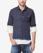 Buffalo David Bitton Men's Sikasto Dip-Dye Shirt