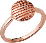 Links of London Thames 18ct rose-gold vermeil ring