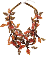 Takai by Angela Beracha Cluster Statement Necklace