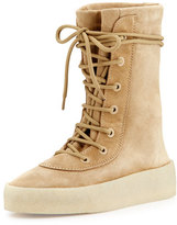 Yeezy Suede Boot, Taupe