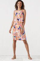 J. Jill Paisley Layered Dress