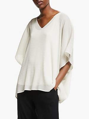 Eileen Fisher Poncho Top, Bone