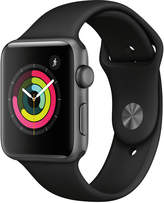 Apple Watch Series 3 (Gps,) 42mm Space Gray Aluminum Case with Black Sport Band