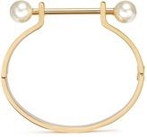 Chloé 'Darcey' piercing bar Swarovski pearl cuff