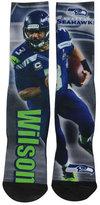 For Bare Feet Russell Wilson Seattle Seahawks Player Socks