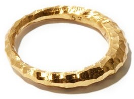 All Blues - Hungry Snake Gold-vermeil Ring - Womens - Gold