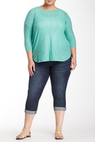 KUT from the Kloth Bardot Cropped Slim Boyfriend Jean (Plus Size)