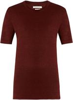 Etoile Isabel Marant Keiran linen boyfriend T-shirt