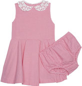 Ralph Lauren Gingham cotton dress and under shorts 3-24 months