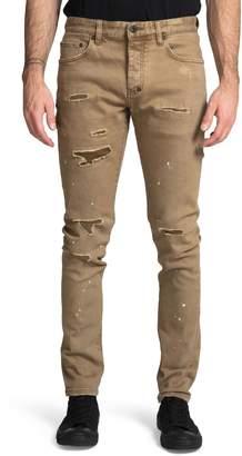 PRPS Le Sabre Distressed Slim Fit Jeans