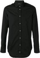 John Richmond embroidered hem shirt - men - Cotton - M