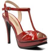 Buffalo David Bitton Women's Aya Sandals In Red - Size Uk 7.5 / Eu 41
