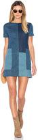 J Brand Luna Shift Dress in Blue. - size M (also in )