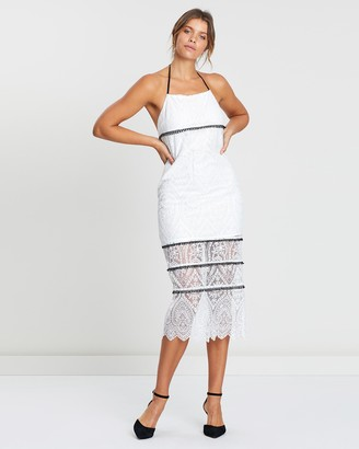 Atmos & Here Lace Tie Back Dress