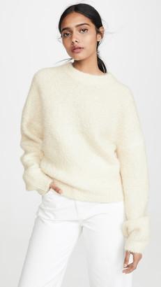 Le Kasha Baden Fuzzy Cashmere Sweater