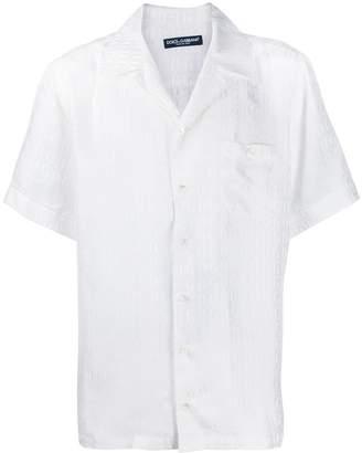 Dolce & Gabbana logo print shirt
