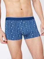 Tu 3 Pack Blue Tribal Print Hipster Briefs
