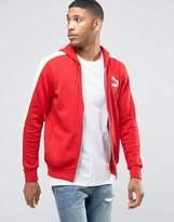Puma Windbreaker Jacket In Red 57151807