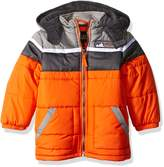 iXtreme Little Boys' Toddler Cut and Sew Colorblock Puffer