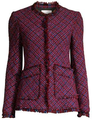 Rebecca Taylor Multi-Tweed Jacket