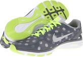Nike Dual Fusion Trainer Print (Stadium Grey/Volt/Pure Platinum/Metallic Platinum) - Footwear
