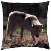 "iRocket - Leave Me Alone - Throw Pillow Cover (14"" x 14"", 35cm x 35cm)"