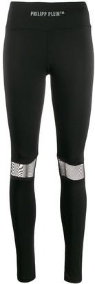 Philipp Plein TM logo-print leggings