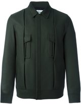 Chalayan pleated jacket - men - Cotton/Polyamide/Viscose/Virgin Wool - 48