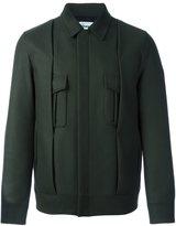 Chalayan pleated jacket - men - Virgin Wool/Cashmere/Polyamide/Cotton - 48