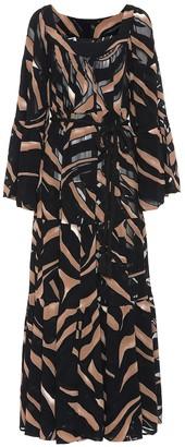 Lisa Marie Fernandez Printed maxi dress
