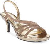 Nina Neely Asymmetircal Evening Sandals