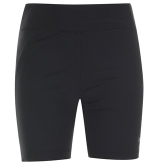 USA Pro Womens Ladies Training Shorts Bottoms Pants Elasticated Waist Clothing Black 18 (XXL)