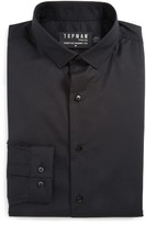 Topman Men's Skinny Fit Stretch Dress Shirt