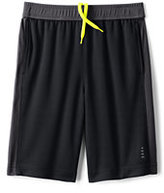 Lands' End Toddler Boys Active Mesh Shorts-Blue Seersucker Stripe
