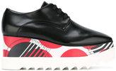 Stella McCartney printed Elyse platform shoes - women - Polyester/Polyurethane/rubber - 35.5
