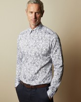 Ted Baker FORSUTT Tall cotton paisley shirt