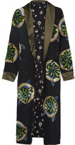 Etro Sequin-embellished Silk Jacket - Black
