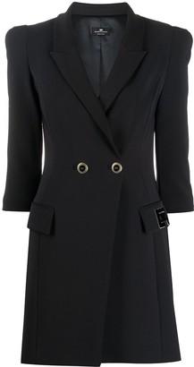 Elisabetta Franchi Fitted Blazer Dress
