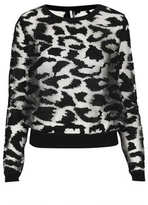 Knitted Burnout Animal Top